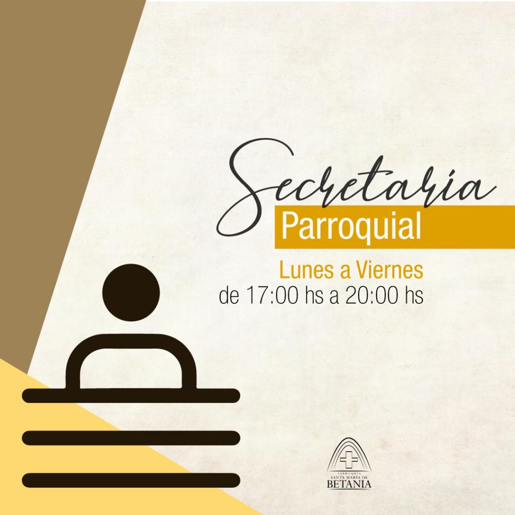 Secretaria Parroquial